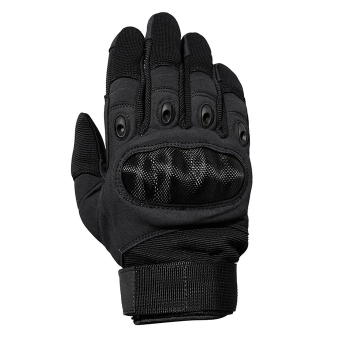 Mesh Motorcycle Gloves - Black