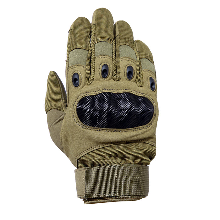 Mesh Motorcycle Gloves - Tan