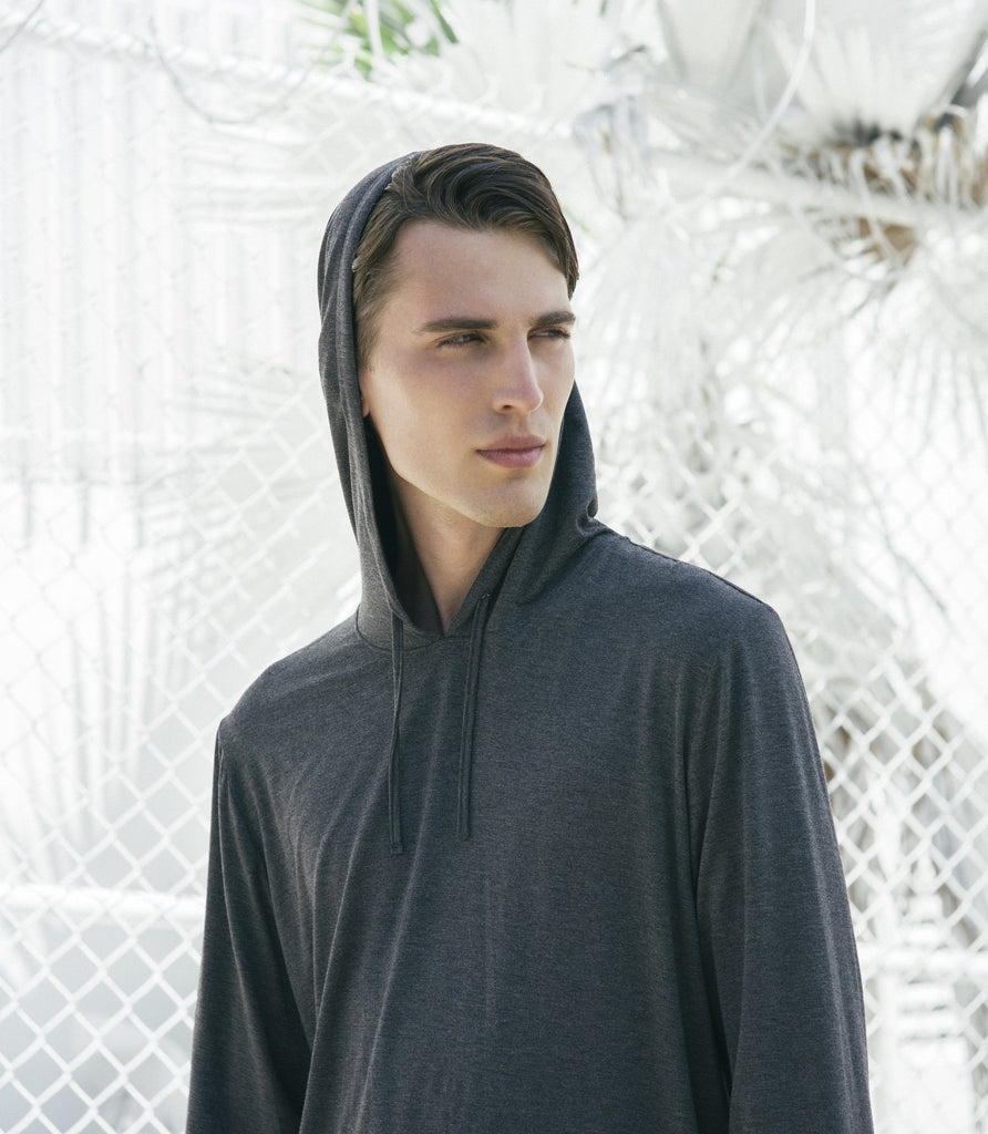 DURANT HOODIE CHARCOAL/BLACK - Standard Issue NYC