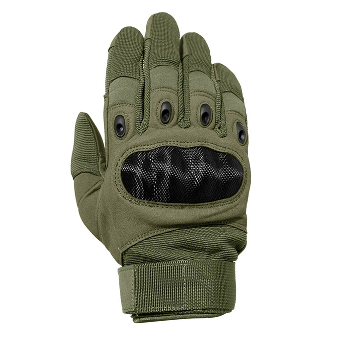Mesh Motorcycle Gloves - Green