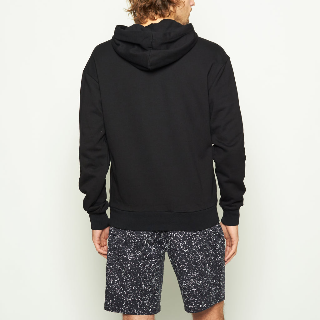 Brooks Logo Hoodie - Black - Standard Issue NYC