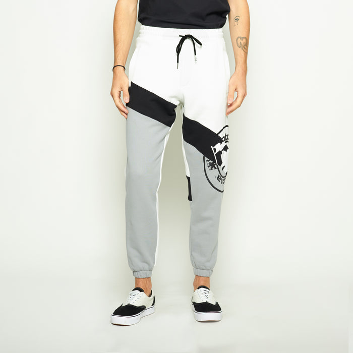 OC Colorblock Sweatpants - White/Grey - Standard Issue NYC