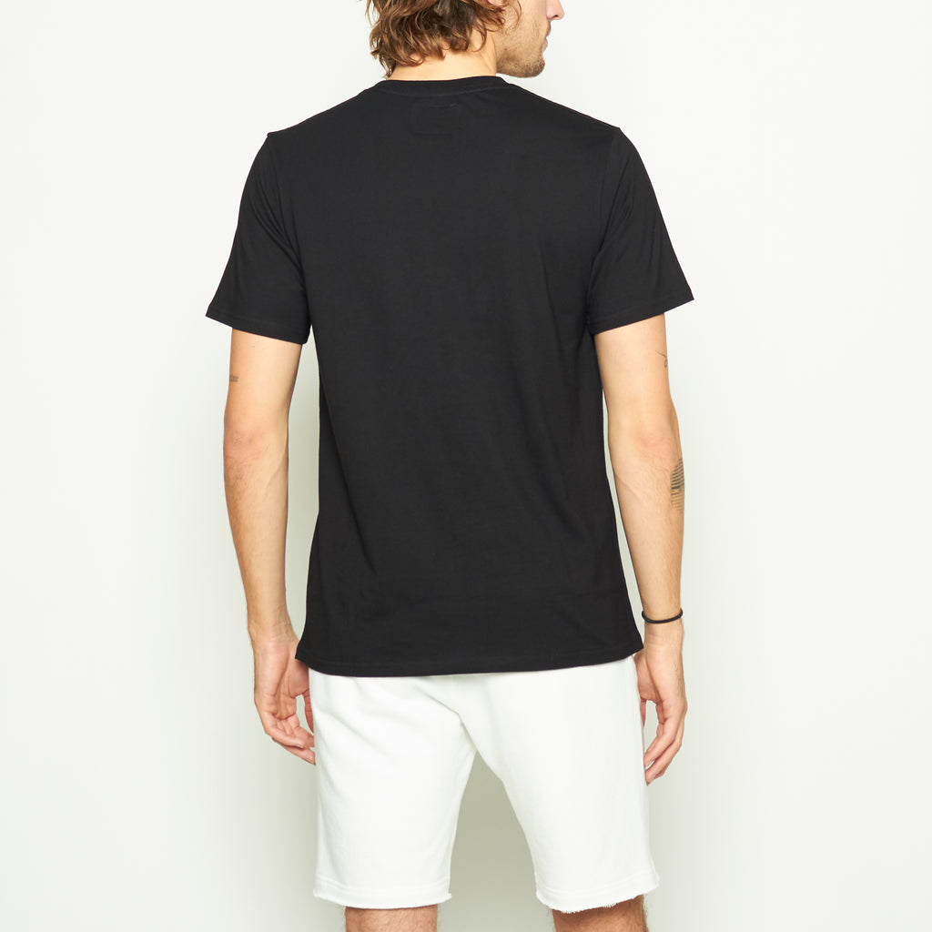 Laguna Logo Tee - Black - Standard Issue NYC