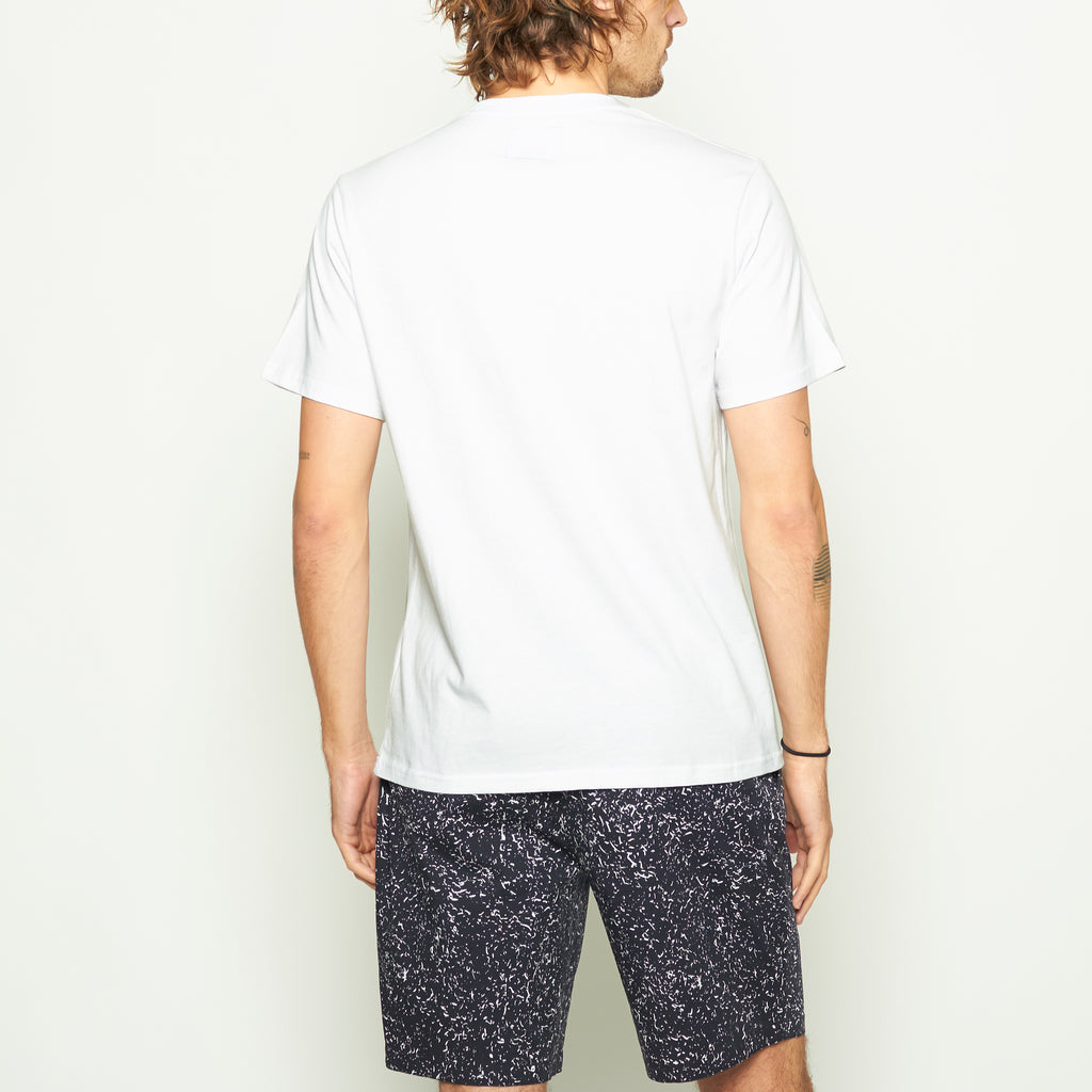 Laguna Logo Tee - White - Standard Issue NYC