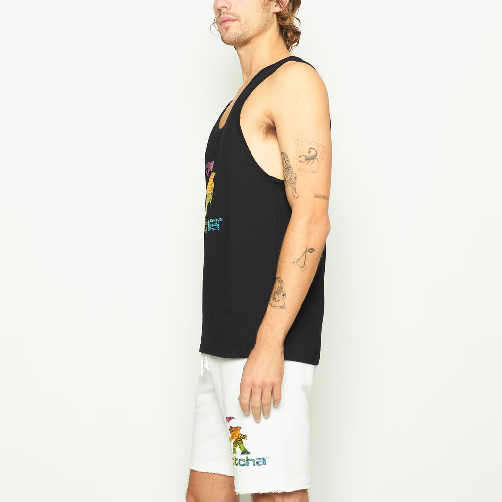 Laguna Logo Tank - Black - Standard Issue NYC