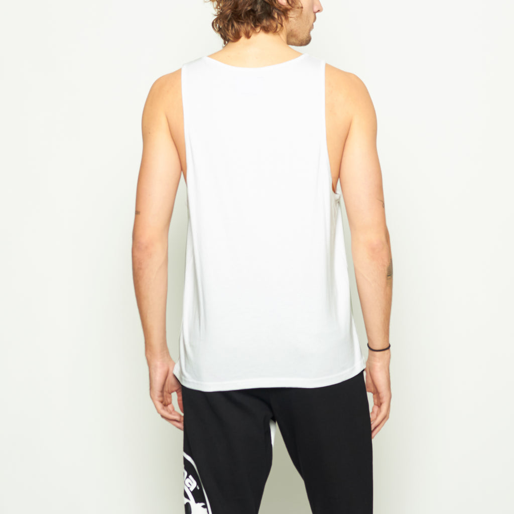 Laguna Logo Tank - White - Standard Issue NYC