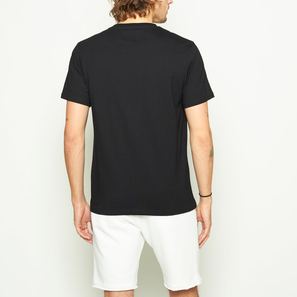 Digital Wave Tee - Black - Standard Issue NYC