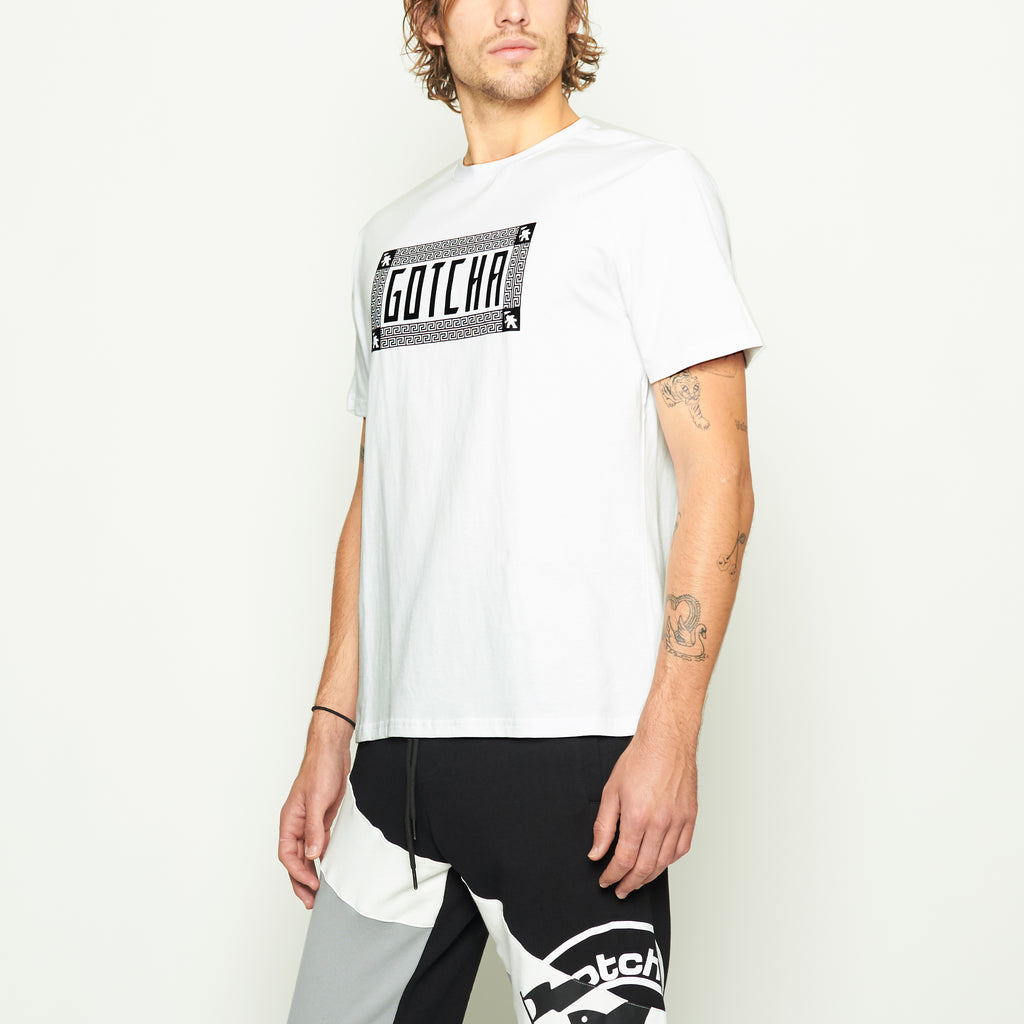 Digital Wave Tee - White - Standard Issue NYC