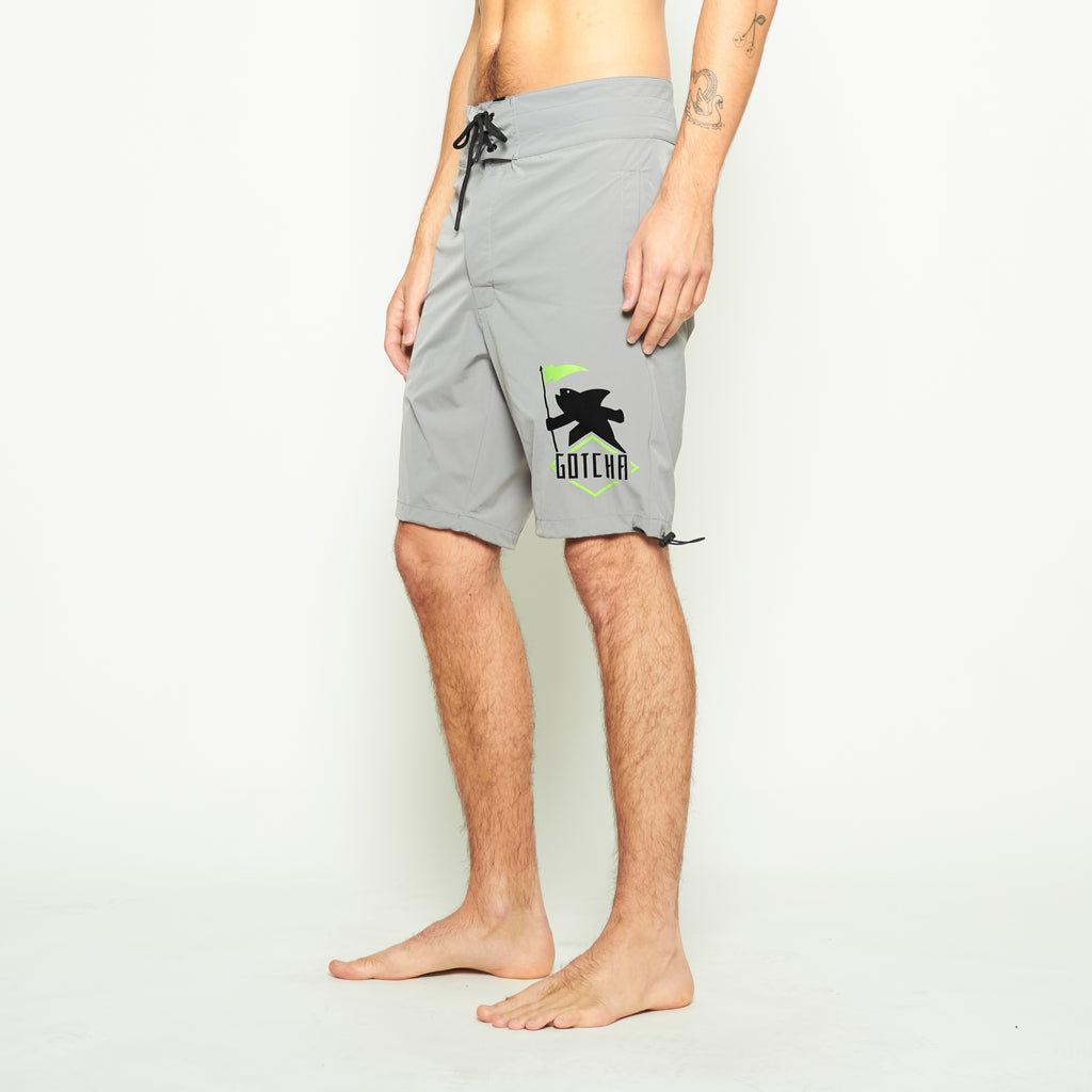 Brooks Windbreaker Shorts - Grey - Standard Issue NYC