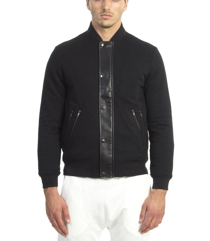 TRISTAN TERRY JACKET BLACK - Standard Issue NYC