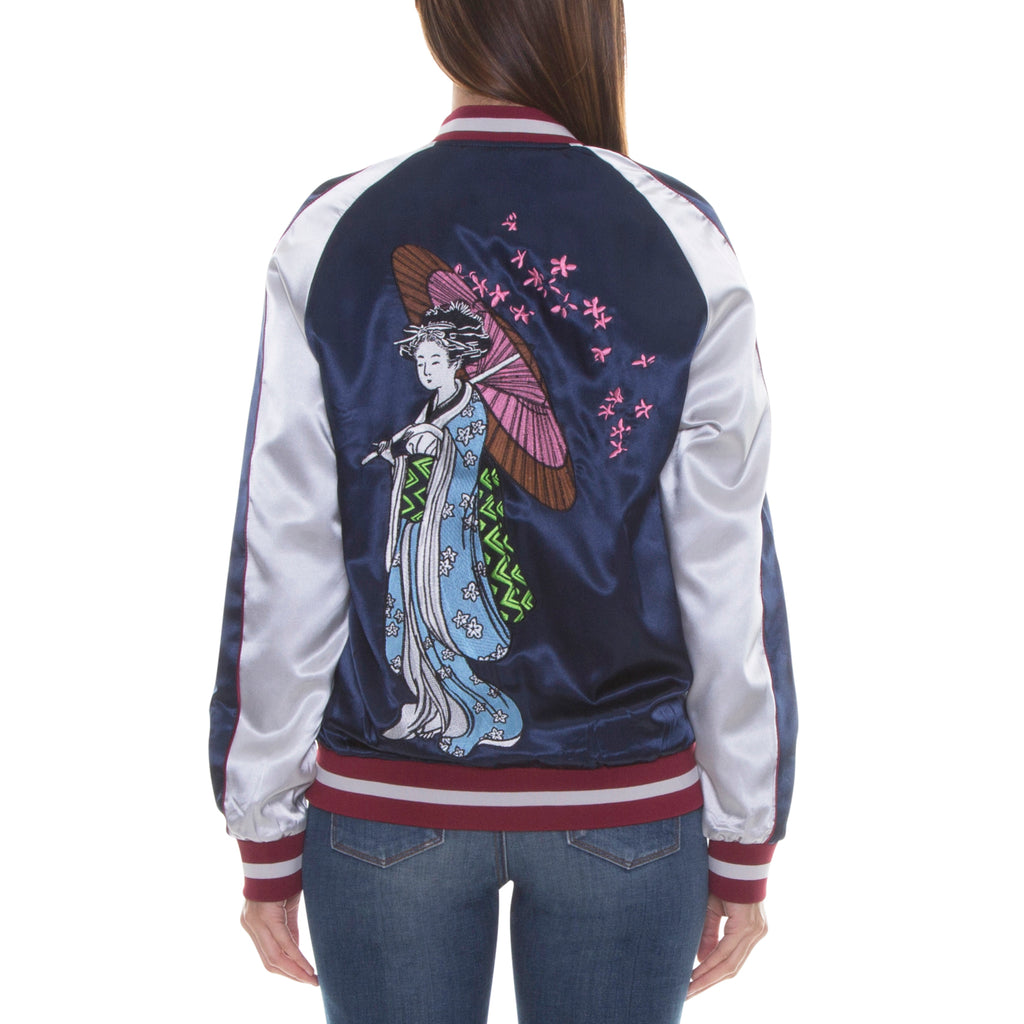 GEISHA SOUVENIR JACKET - NAVY - Standard Issue NYC