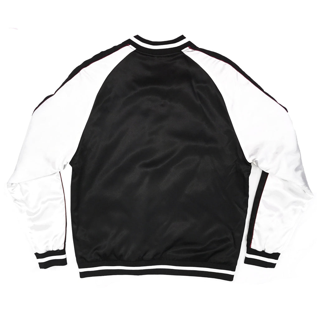 SOLID COLOR BLOCK JACKET - BLACK/WHITE - Standard Issue NYC