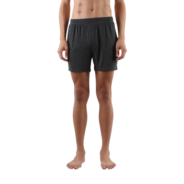Cotton Modal Everyday Boxers - Charcoal