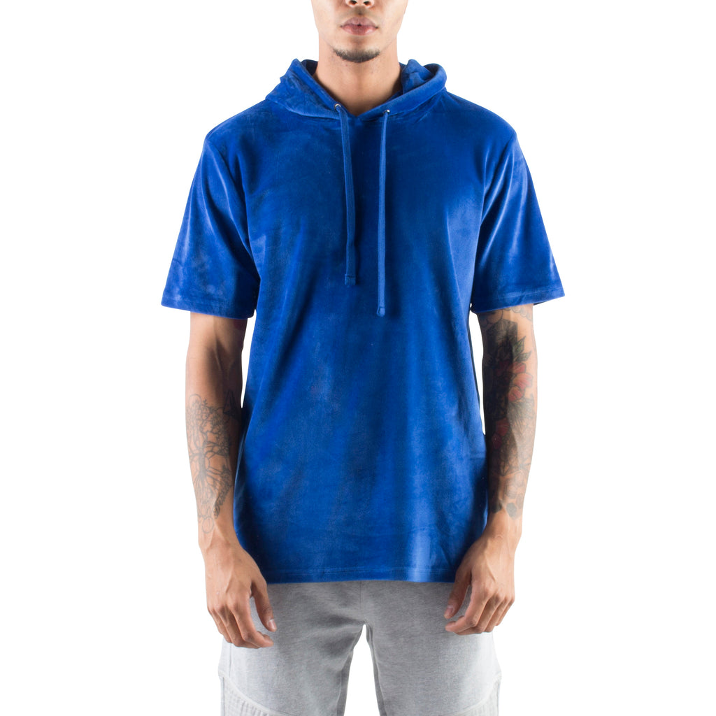 VELOUR HOODIE - ROYAL BLUE - Standard Issue NYC