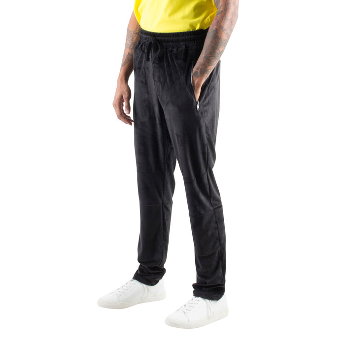 7c63f1f33fec VELOUR BASIC JOGGERS - BLACK - Standard Issue NYC