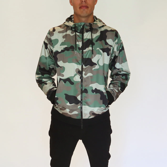LIGHT HOOD JACKET - CAMO