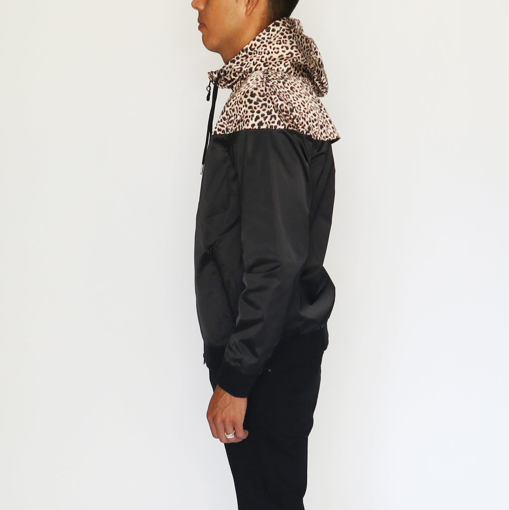 LEOPARD LIGHT HOOD JACKET