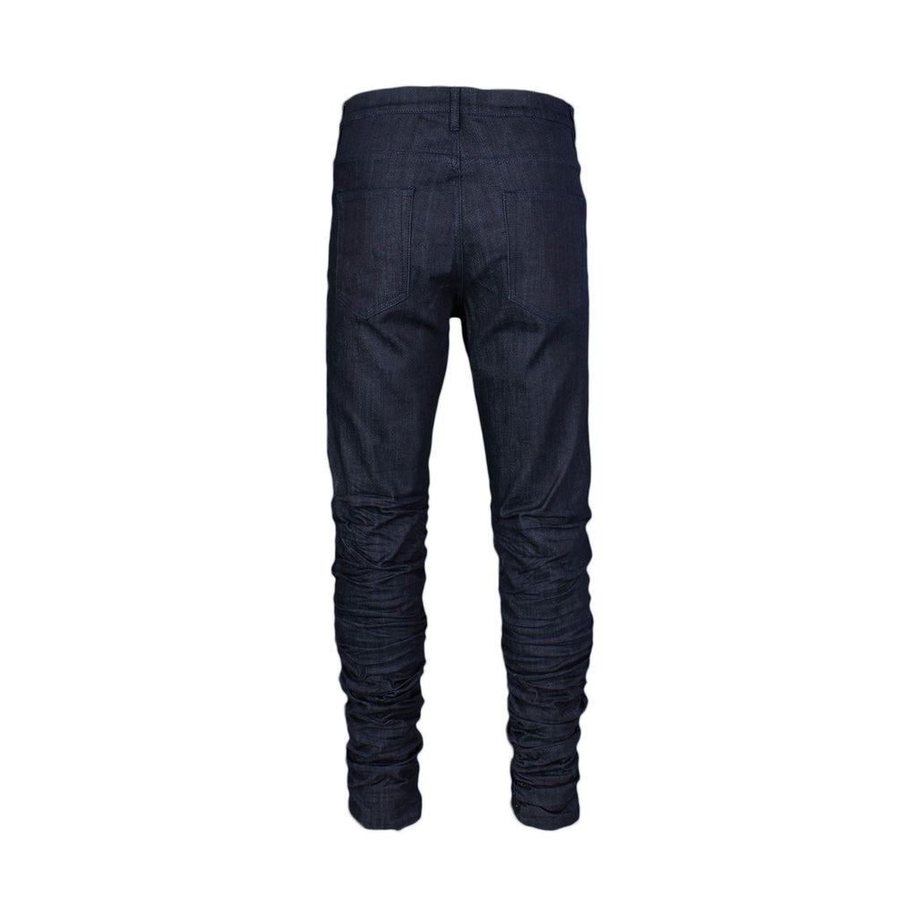 STACKED WRINKLE JEAN - INDIGO - Standard Issue NYC