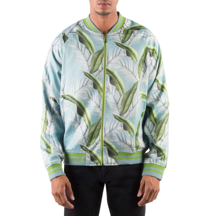 GREEN LEAF LIGHT BOMBER JACKET - Standard Issue NYC