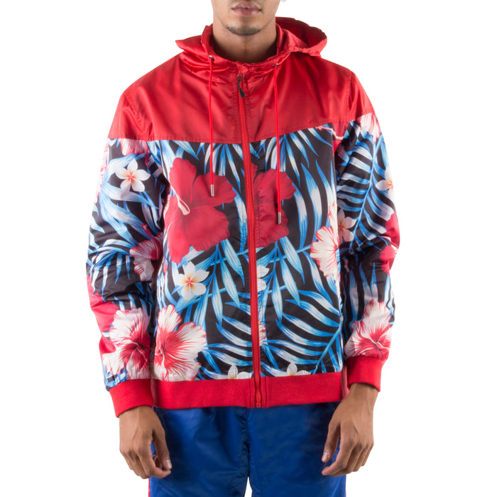RED/BLACK LIGHT HOOD JACKET - Standard Issue NYC