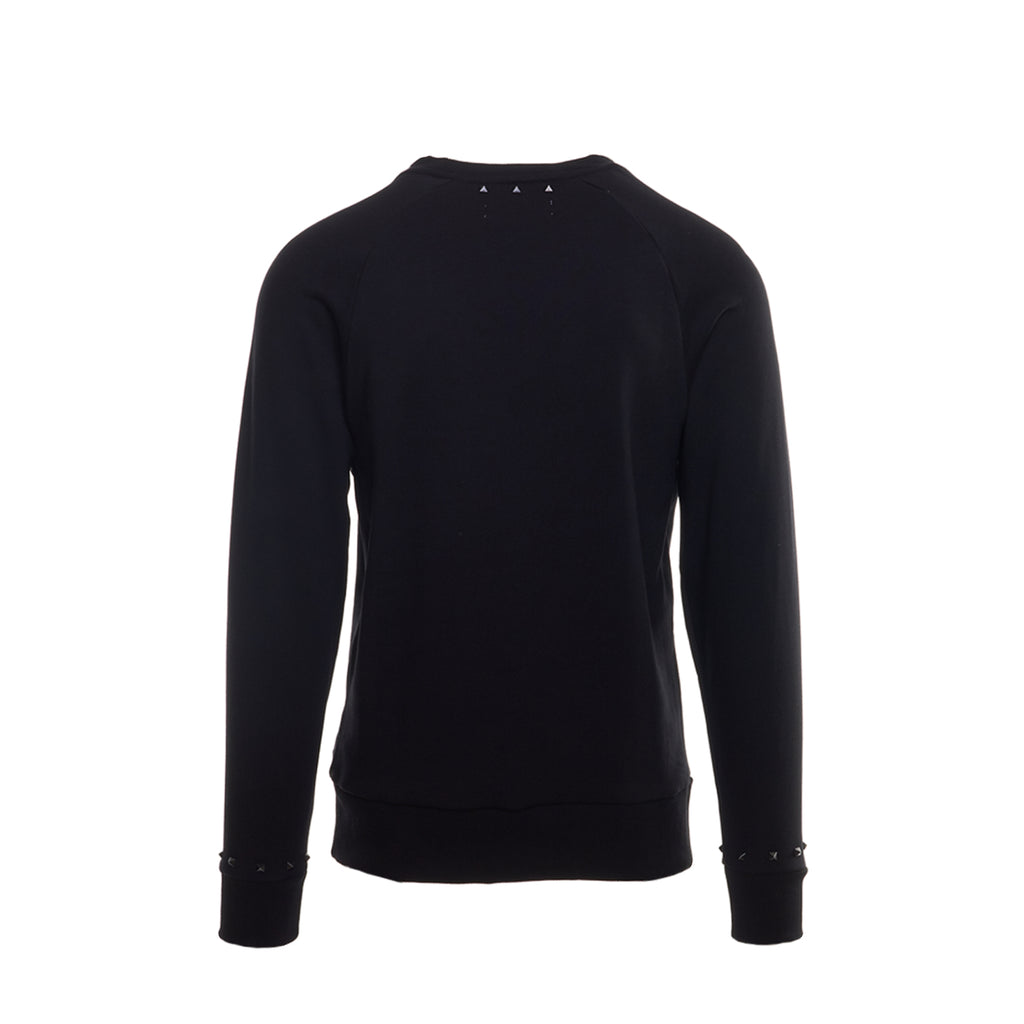 SICS1307 SWEATSHIRT W STUDS - BLACK - Standard Issue NYC