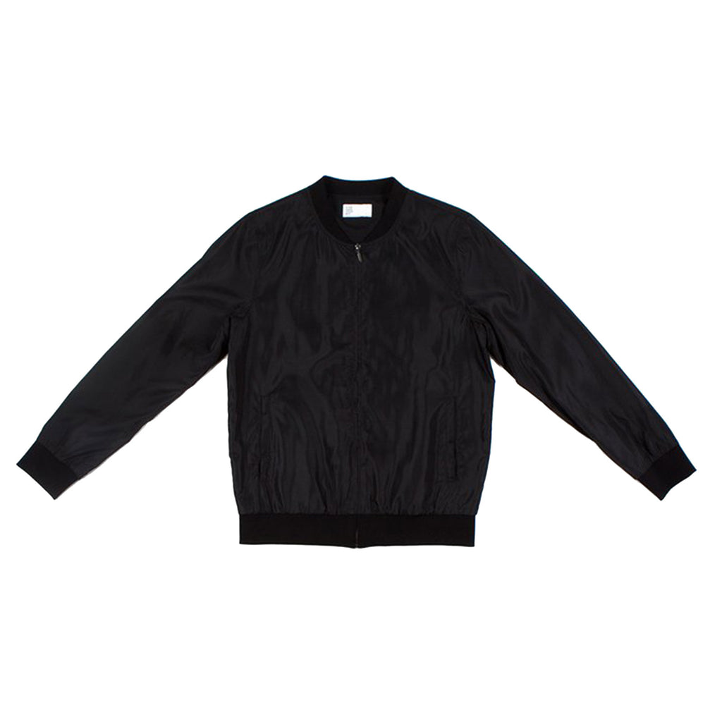 NYLON BOMBER BLACK - Standard Issue NYC
