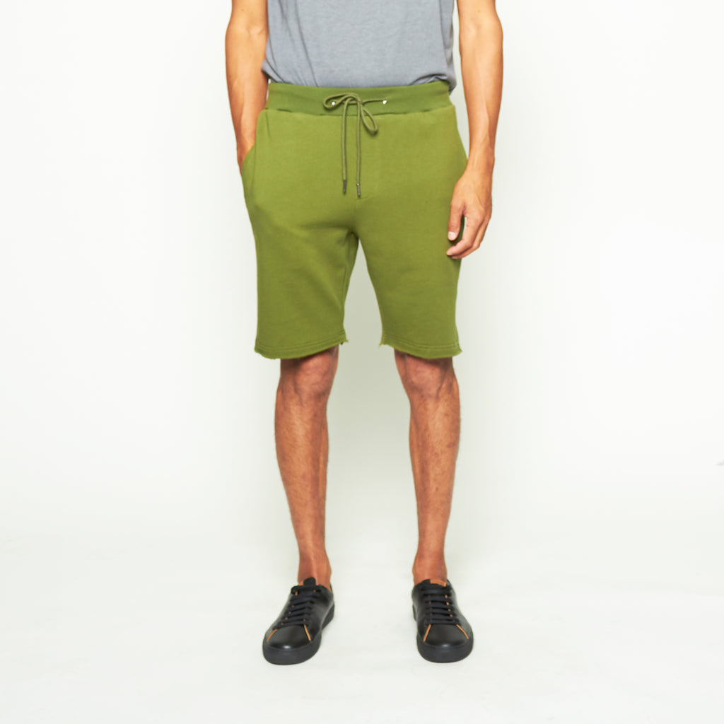 Sweatshorts - Olive - Standard Issue NYC