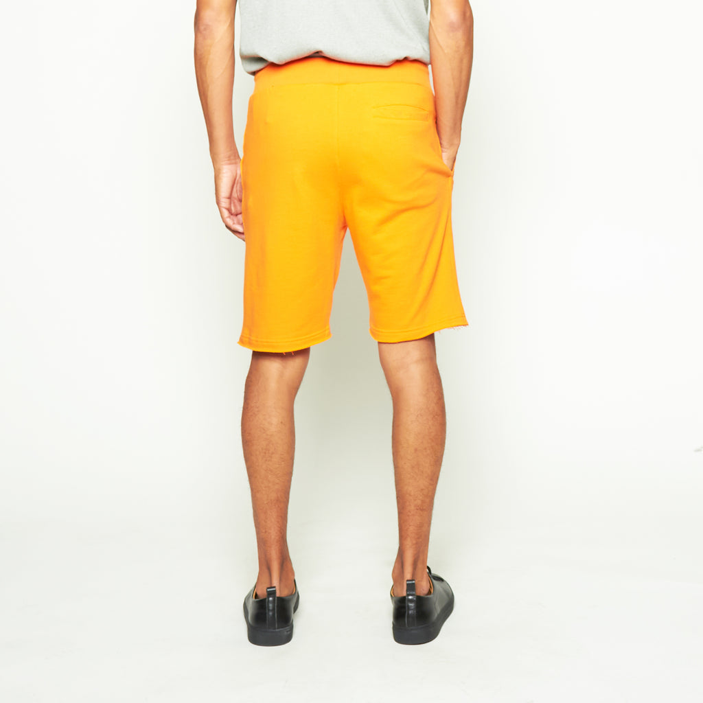 Sweatshorts - Orange - Standard Issue NYC