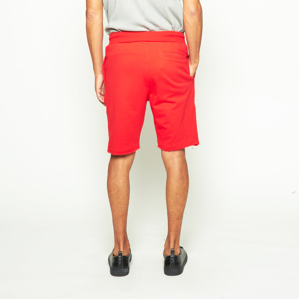 Sweatshorts - Red - Standard Issue NYC