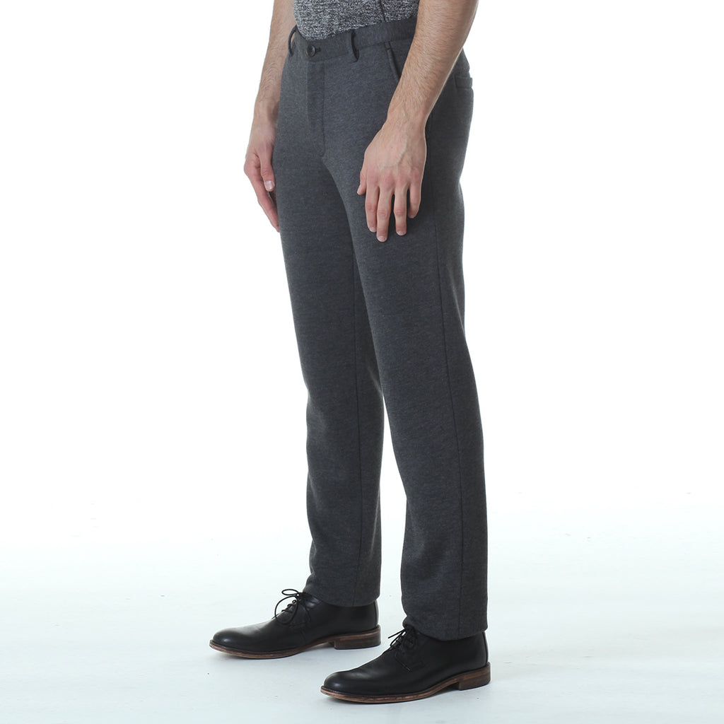 Fleece Tailored Pants Black - Standard Issue NYC