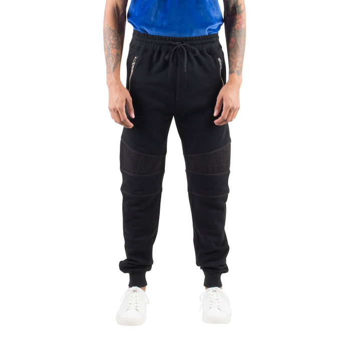 58d7b237f5c5 RELAXED MOTO JOGGERS - BLACK - Standard Issue NYC