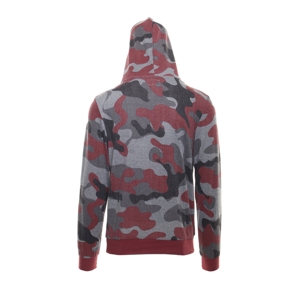 CAMO CROSSOVER HOODIE - Standard Issue NYC