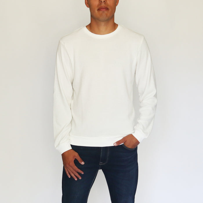 HACCI SWEATSHIRT - WHITE