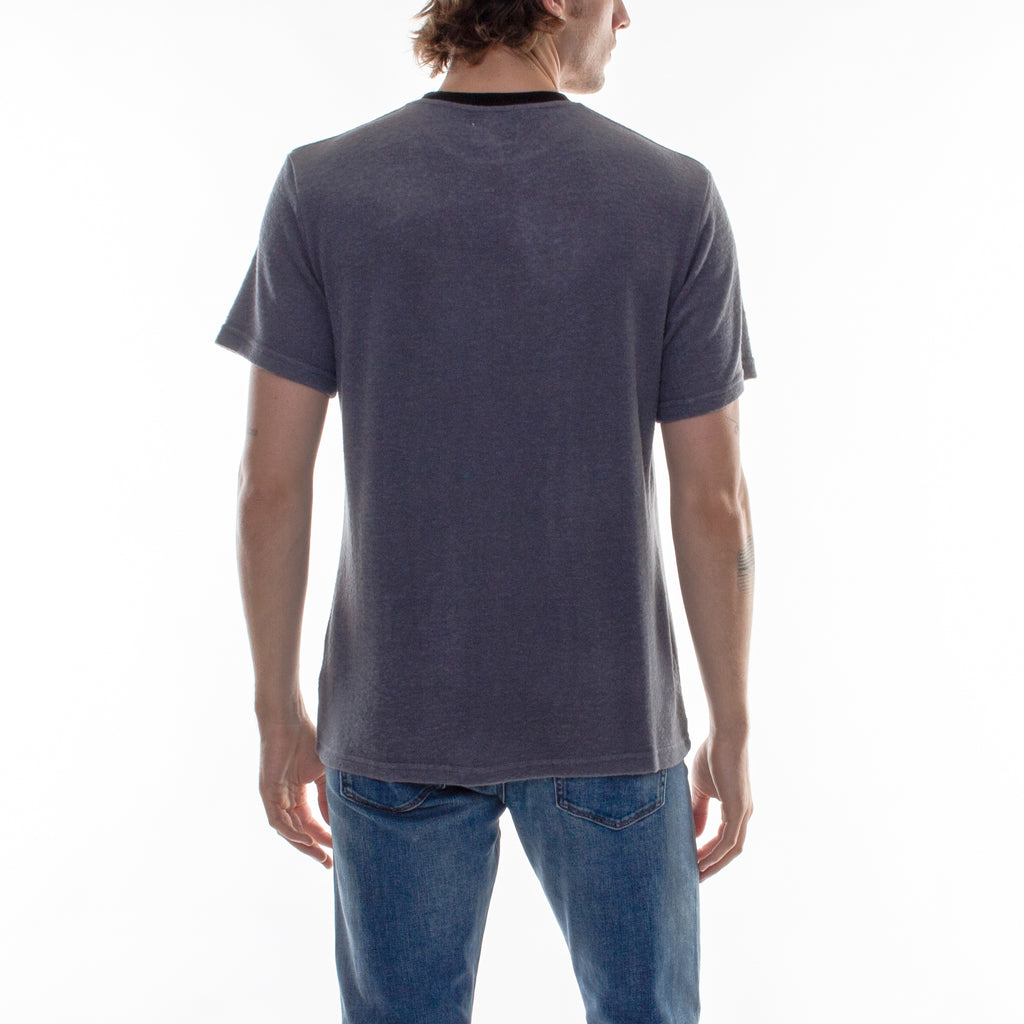HACCI CREW NECK TEE - ANTHRACITE/BLACK - Standard Issue NYC