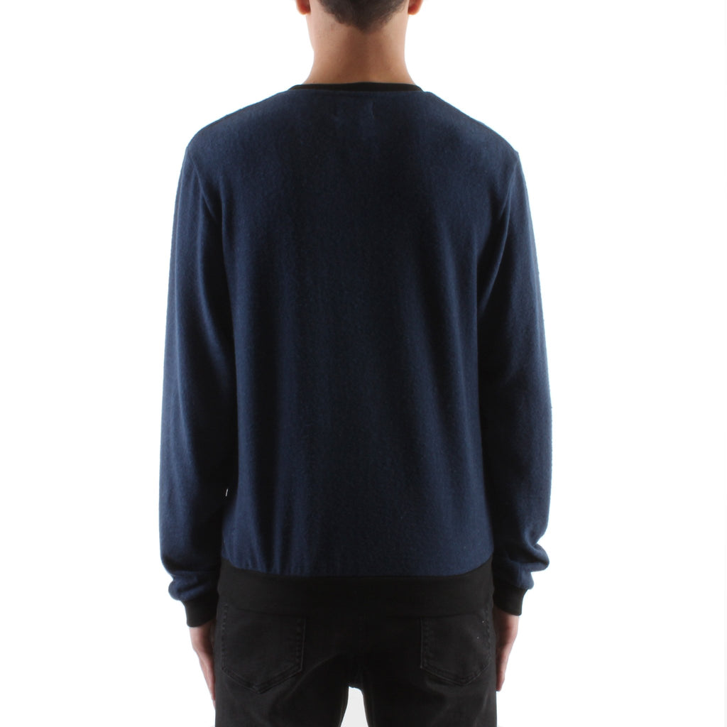 HACCI SWEATER - INDIGO/BLACK - Standard Issue NYC