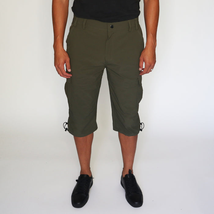 Cargo Shorts - Army Green