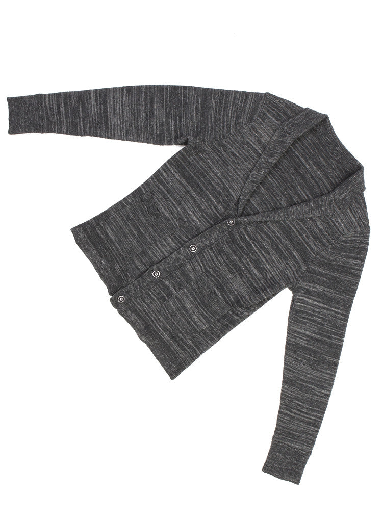MELANGE CARDIGAN BLAZER GREY - Standard Issue NYC