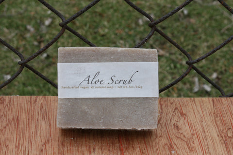 Aloe Scrub Soap
