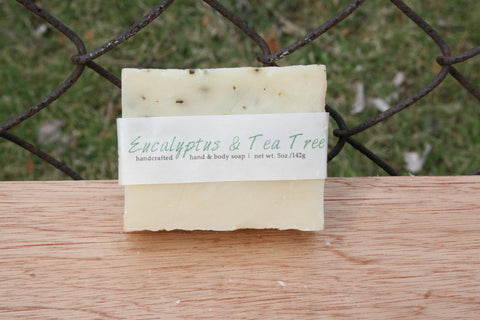 Eucalyptus & Tea Tree Soap
