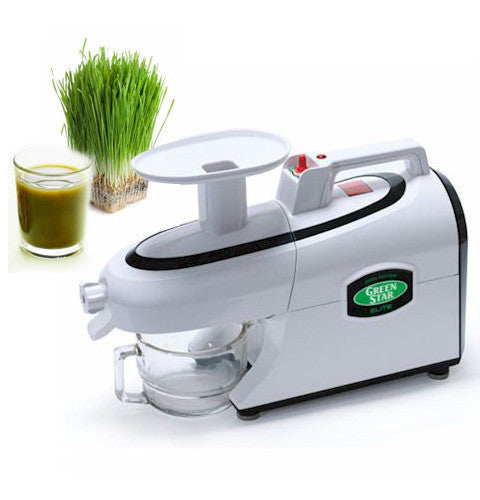 48b8589e5fd2 Tribest GSE-5000 Green Star Elite Jumbo Twin Gear Juicer - Olive Seed