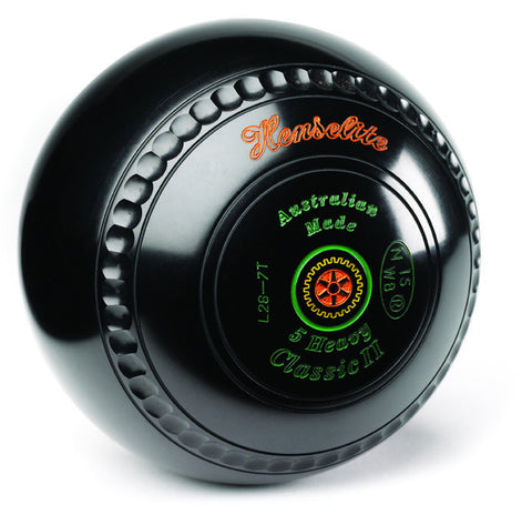 Henselite Classic II Gripped - Black & Coloured