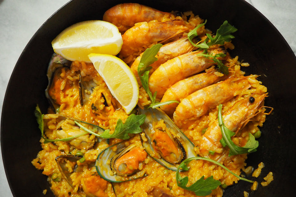 SEAFOOD PAELLA (MADE IN SINGAPORE)