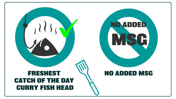 Dishthefish The New Age Fishmonger MSG No Added Free Catch of the Day Fish Head Fresh Fish Wild Caught Catch Singapore Seafood Third Generation Fishmonger