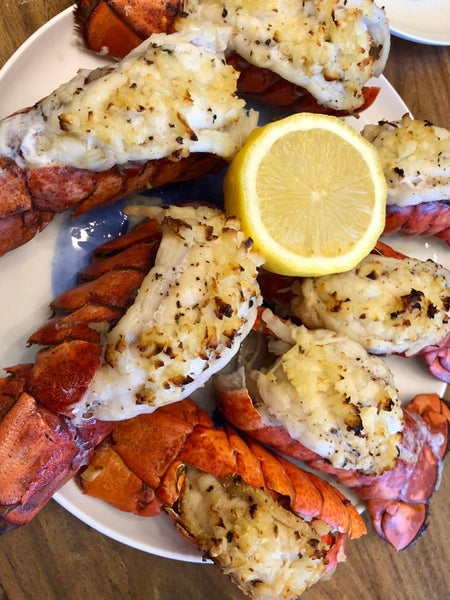 baked lobster tails christmas dish the fish online