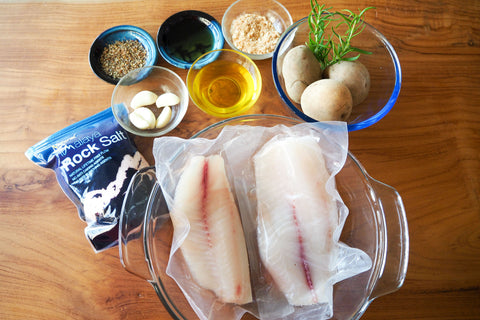 Dishthefish Baked Tilapia Ingredients