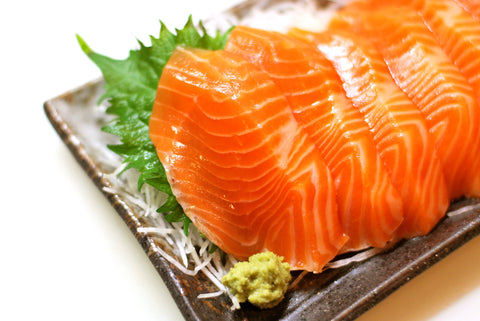 How to cut Salmon Sashimi Dishthefish