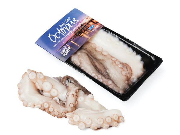 whole boiled octopus sashimi grade fresh fish singapore fishmonger seafood online delivery the new age fishmonger singapore DishTheFish A Great Fish Makes The Dish Australia MSC 100% wild caught Pacific Octopus Skull Island Southwest 八角鱼 澳洲 野生 海抓 即煮 方便包装 新加坡 网购