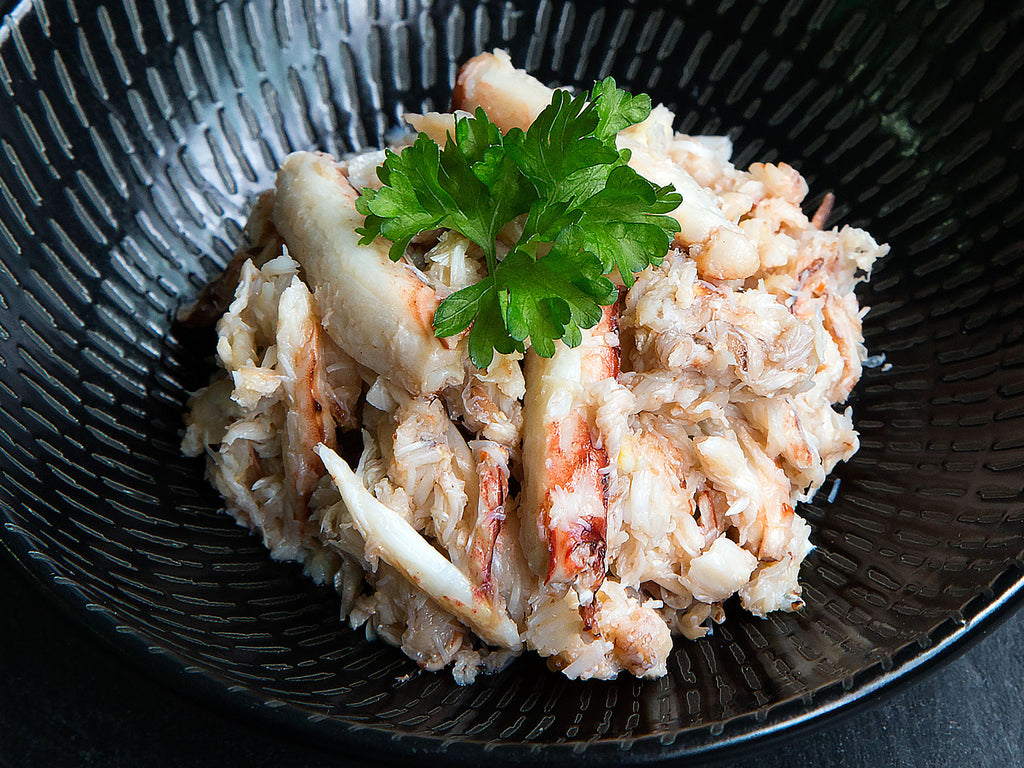 Flower Crab Claw Meat (454g tub) - Dishthefish