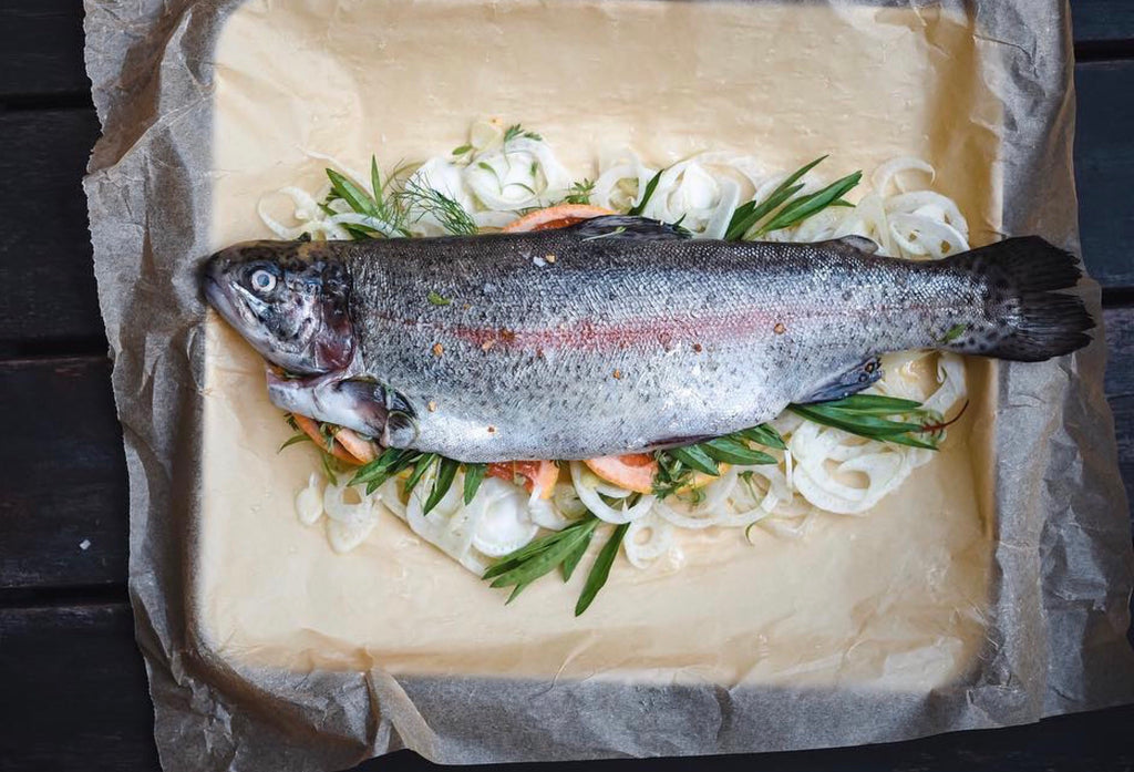 rainbow trout singapore fresh fish wild caught online delivery wet market seafood the new age fishmonger local scotland airflown chilled 鳟鱼 苏格兰 渔民 新加坡 网购 鲜鱼 巴刹 野生