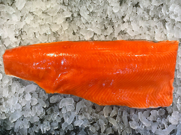 Wild Frozen Sockeye Salmon Fillet (about 650g)